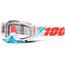 100% Racecraft Goggle calculus ice / clear